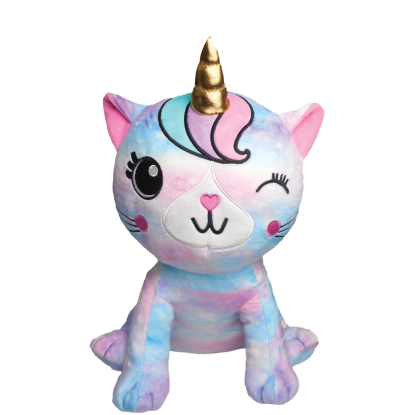 Picture of Caticorn Tie Dye Fleece Pillow