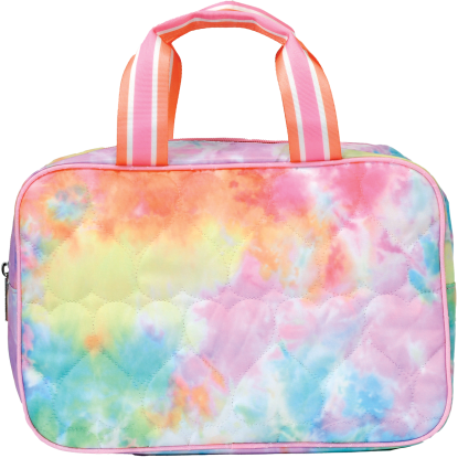 Picture of Cotton Candy Heart Large Cosmetic Bag