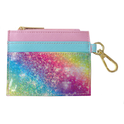 Picture of Shimmering Rainbow Cardholder