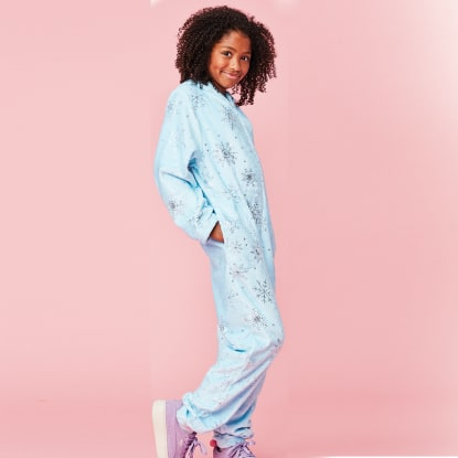 Picture of Snowflakes Plush Onesie