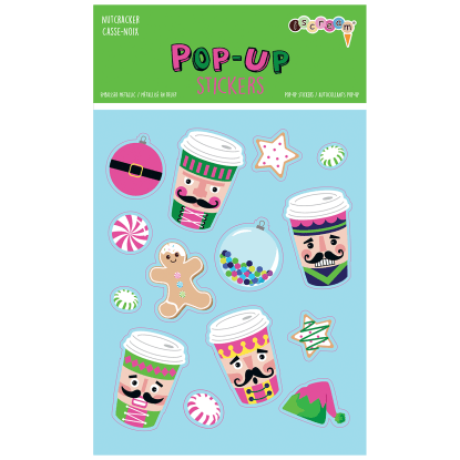 Picture of Nutcracker Pop-Up Stickers