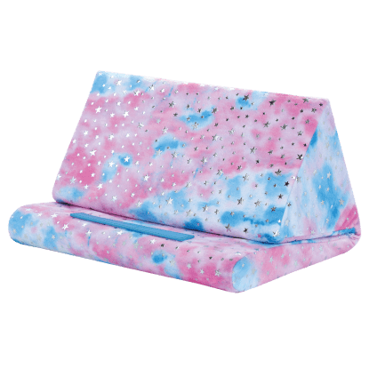 Picture of Silver Star Tie Dye Tablet Pillow