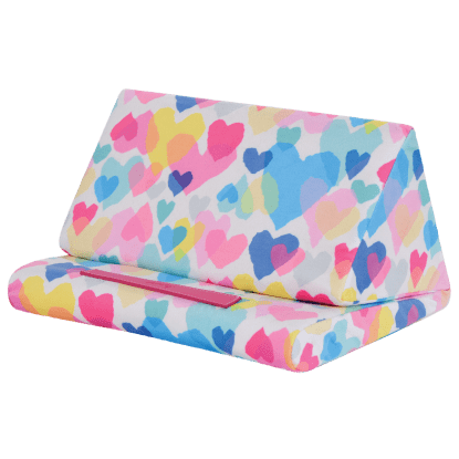 Picture of Pastel Hearts Tablet Pillow