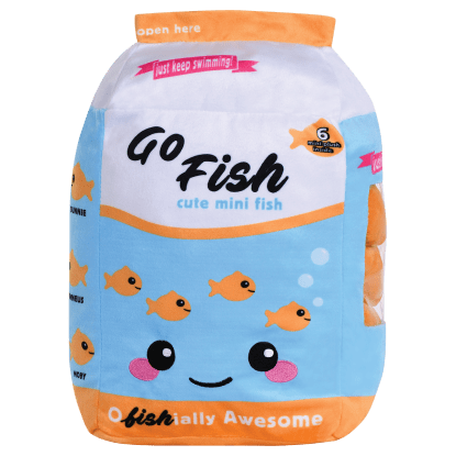 Picture of Go Fish  Fleece Pillow