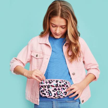 Picture of Pink Leopard Belt Bag