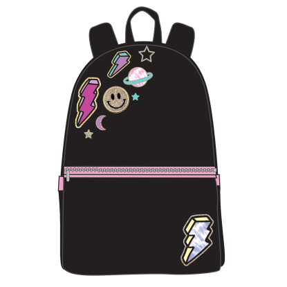 Picture of Lightning Bolt Patches Backpack
