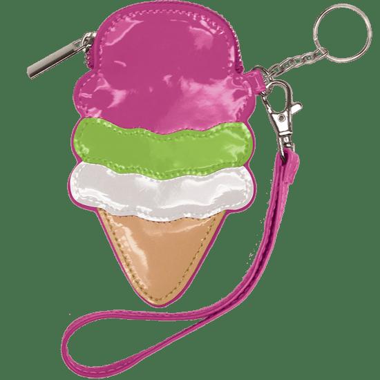 Picture of Ice Cream Cone Purse Key Chain
