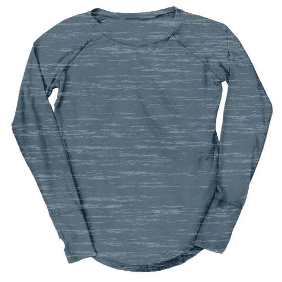 Picture of Burnout Grey Baseball Shirt