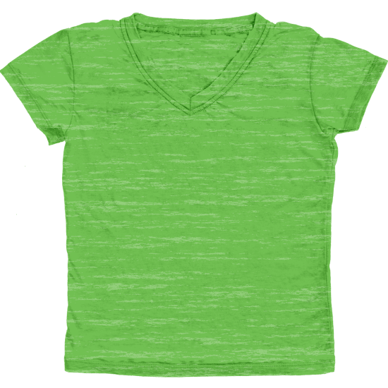 Picture of Burnout Green T-Shirt