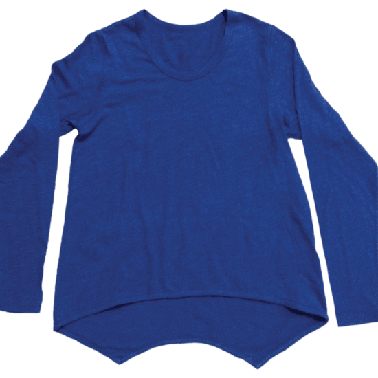 Picture of Blue High-Low Shirt