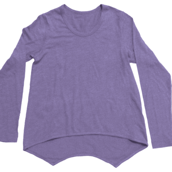 Picture of Purple High-Low Shirt