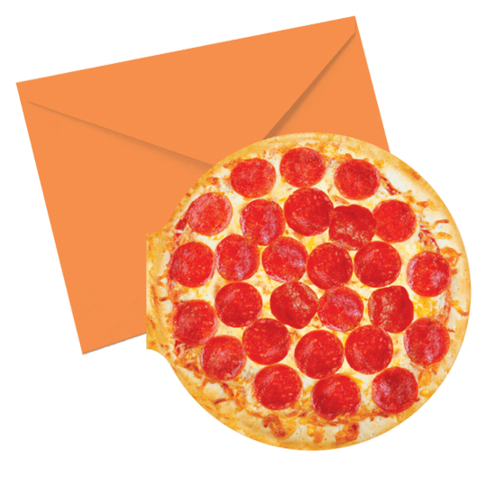 Picture of Pizza Scented Notecards