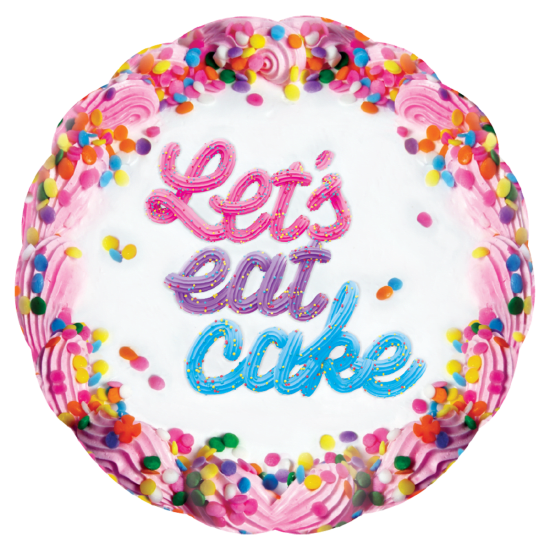 Picture of Let's Eat Cake Microbead Scented Pillow