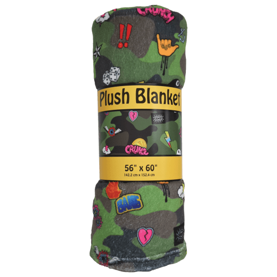 Picture of Camo Plush Blanket