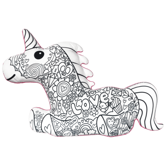 Picture of Magical Unicorn Color Me Pillow