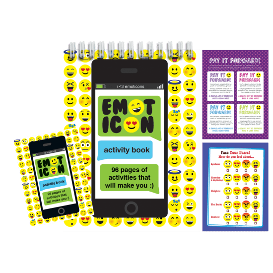 Picture of Emoji Activity Book