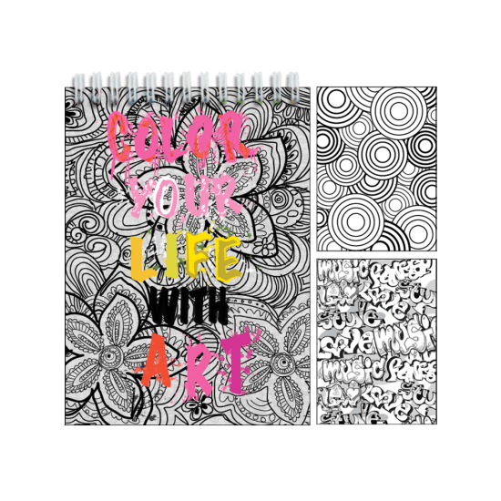 Picture of Color Your Life with Art Activity Book