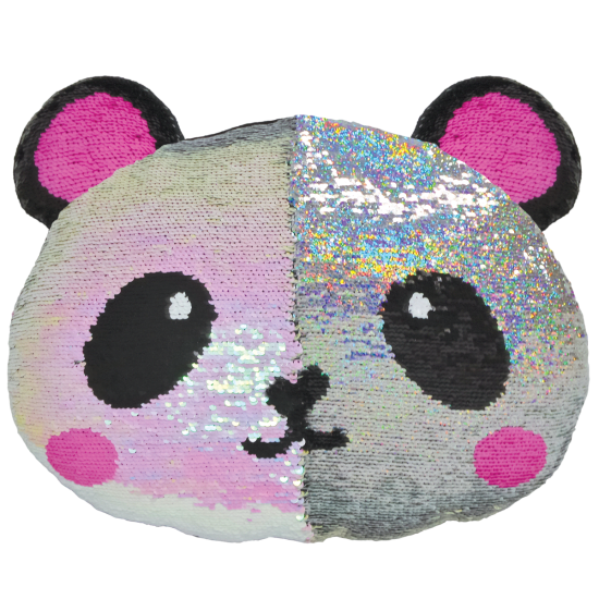 Picture of Panda Reversible Sequin Pillow
