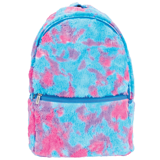 Picture of Sherbet Tie Dye Furry Backpack