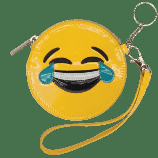 Picture of Happy Tears Emoji Purse Key Chain