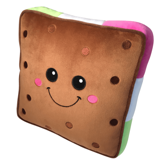 Picture of Ice Cream Sandwich Scented Embroidered Pillow