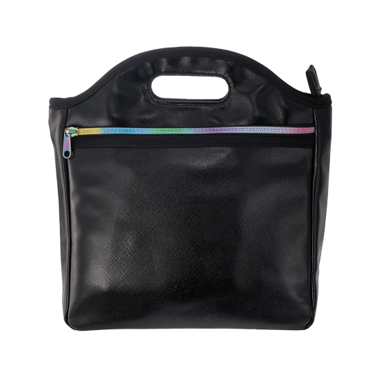 Picture of Black Metallic Lunch Tote