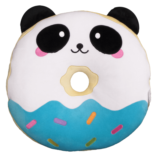 Panda Donut Scented Foodie Pillow