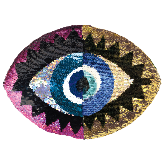 Picture of Eye Reversible Sequin Pillow