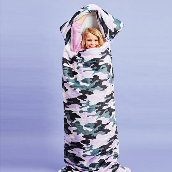 Picture of Purple Camo Sleeping Bag