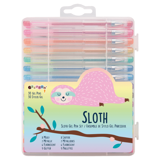 Picture of Sloth Gel Pen Set