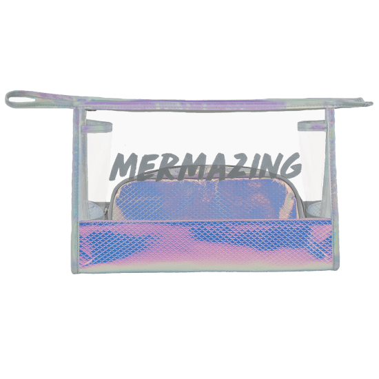 Picture of Mermaizing Clear Travel Bag Duo