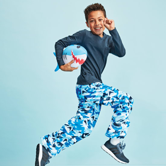 Picture of Sharks Plush Pants