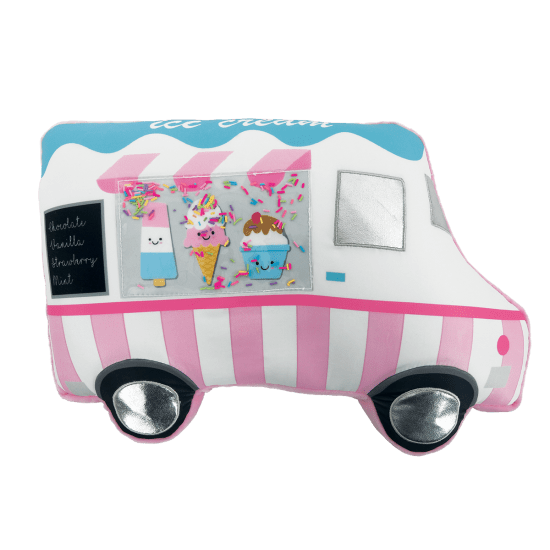 Picture of Ice Cream Truck Scented Microbead Pillow