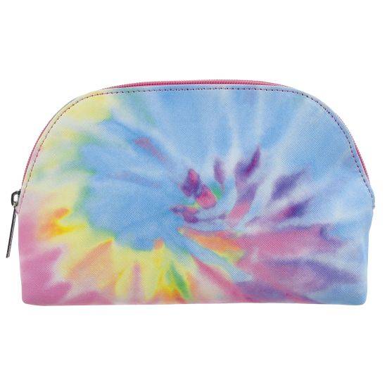Picture of Pastel Tie Dye Oval Cosmetic Bag