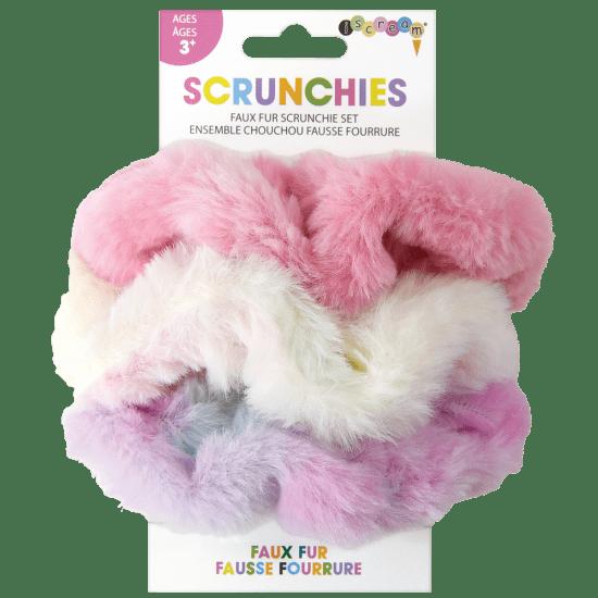 Picture of Faux Fur Scrunchie Set