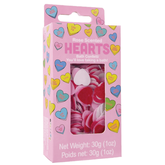 Picture of Hearts Bath Confetti