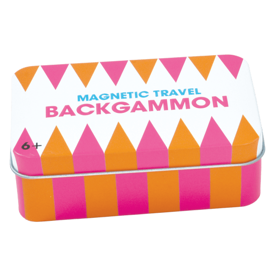 Picture of Backgammon Magnetic Tin Travel Game