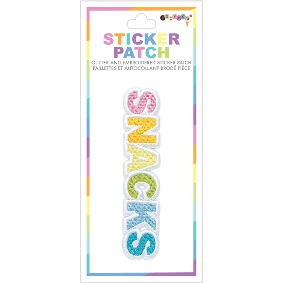 Picture of Snacks Embroidered Sticker Patch