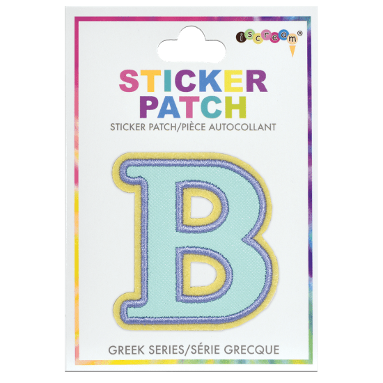 Picture of Beta Greek Letter Sticker Patch