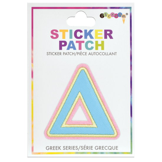 Picture of Delta Greek Letter Sticker Patch