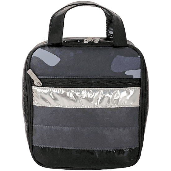 Picture of Black Camo Puffer Lunch Tote