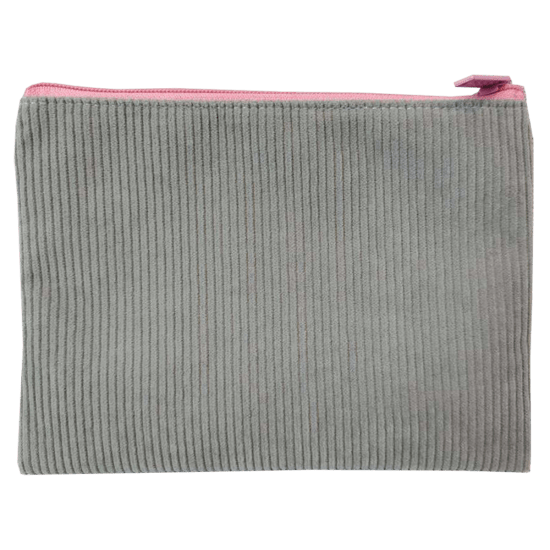 Picture of Grey Corduroy Pencil Case