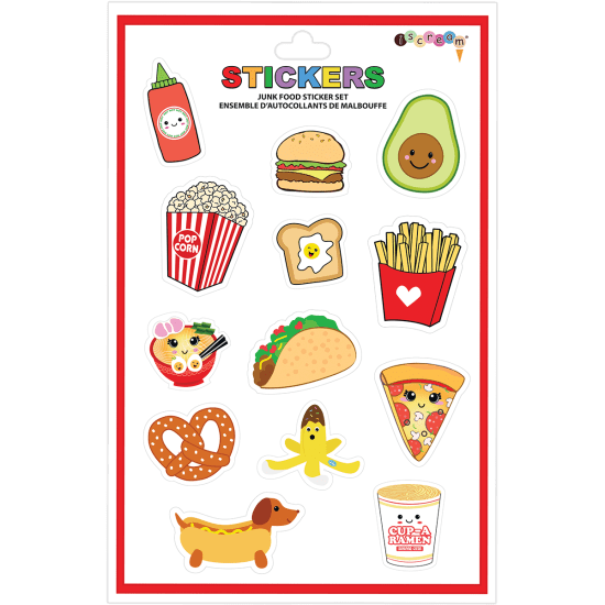 Picture of Junk Food Vinyl Stickers