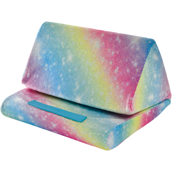 Picture of Shimmering Rainbow Tablet Pillow