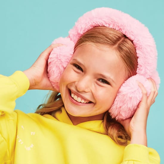 Picture of Heart Furry Earmuffs