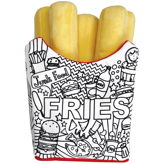 Picture of Fries Color Me Pillow