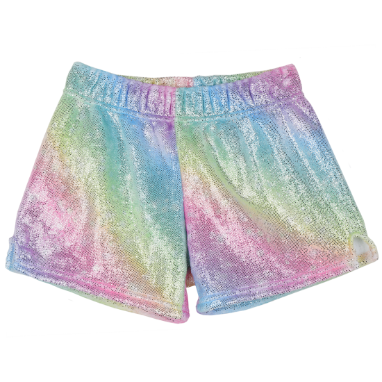 Picture of Shimmering Rainbow Plush Shorts