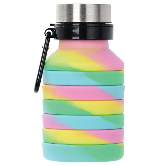 Picture of Swirl Tie Dye Collapsible Water Bottle