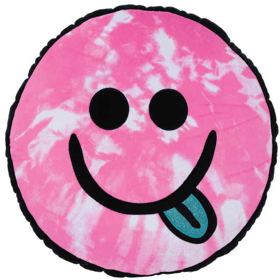 Picture of Be All Smiles Fleece and Glitter Scented Pillow