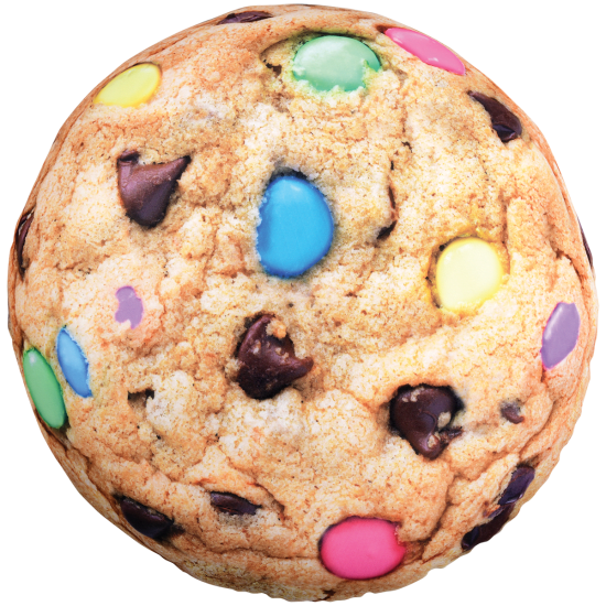 Picture of Pastel Chocolate Chip Cookie Scented Microbead Pillow